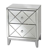 WORLDS AWAY DYLAN SIDE TABLE