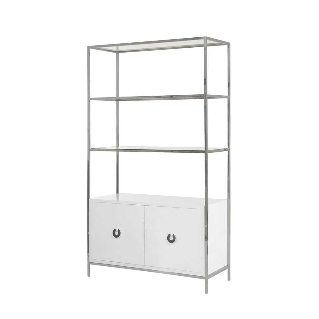 WORLDS AWAY WYETH ETAGERE
