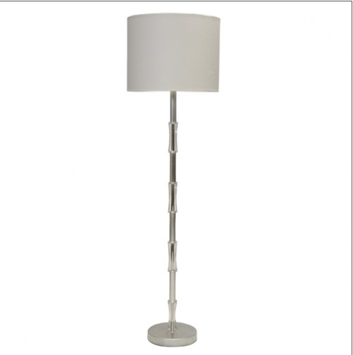 SLOANE SILVER LEAF FLOOR LAMP