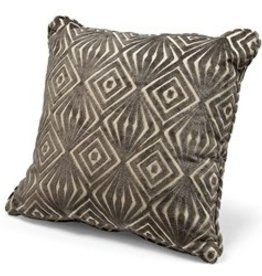 "REGINA ANDREW 18"" x 18"" SQUARE PILLOW- GEE OH/ MINK"