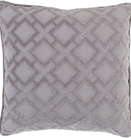 SURYA ALEXANDRIA PILLOW IN CHARCOAL