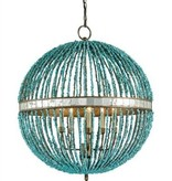 CURREY & CO. ALBERTO ORB CHANDELIER