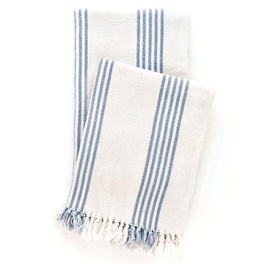 IBIZA FRENCH BLUE THROW