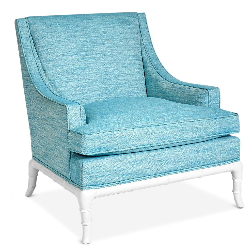 JONATHAN ADLER CHIPPENDALE LOUNGE CHAIR- TURQUOISE LINEN ...  sc 1 st  Shop - Wostbrock Home & JONATHAN ADLER CHIPPENDALE LOUNGE CHAIR- TURQUOISE LINEN - Wostbrock ...