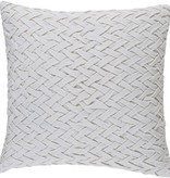 SURYA FACADE PILLOW IN IVORY