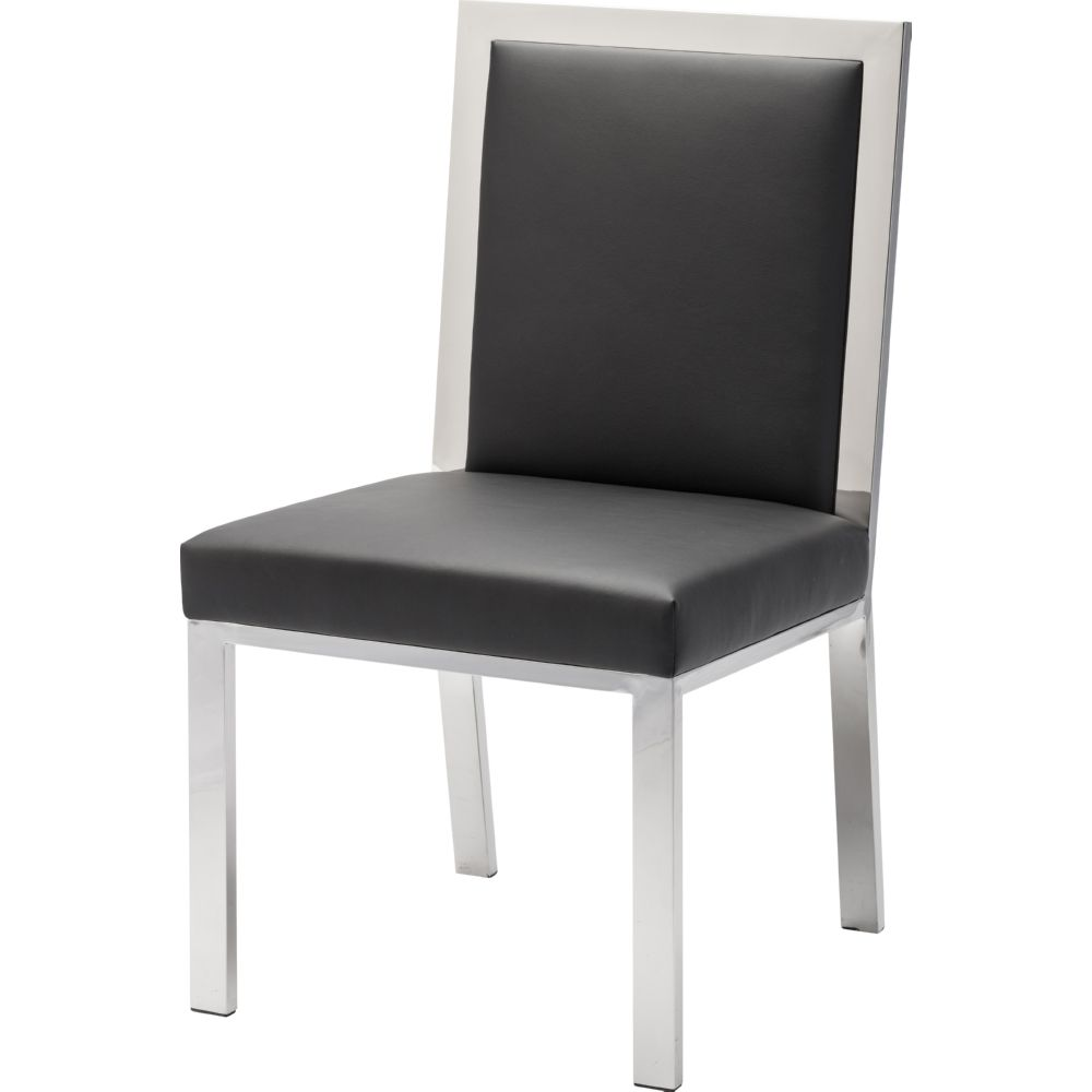 NUEVO RENNES DINING CHAIR IN BLACK