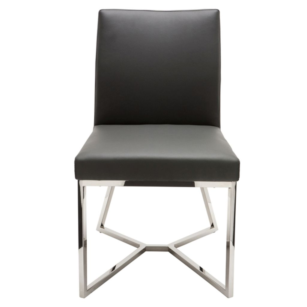 NUEVO PATRICE DINING CHAIR IN GREY