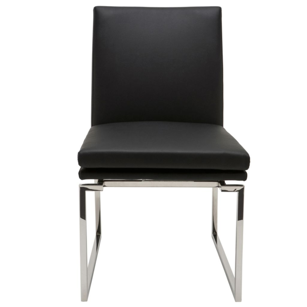 NUEVO SAVINE DINING CHAIR IN BLACK