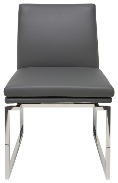 NUEVO SAVINE DINING CHAIR IN GREY
