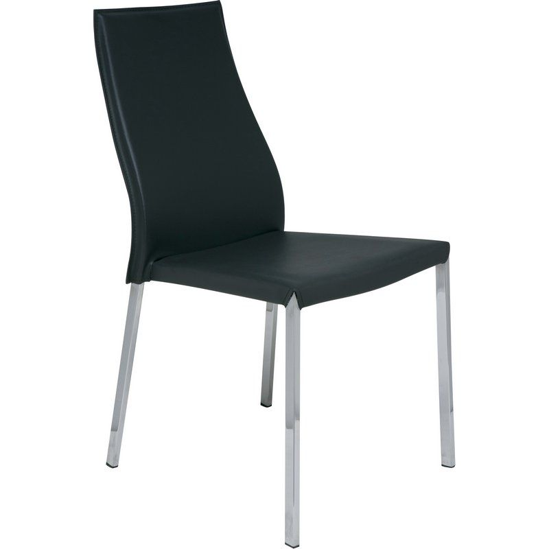 NUEVO ERIC DINING CHAIR IN BLACK
