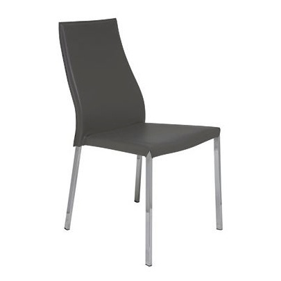 NUEVO ERIC DINING CHAIR IN DARK GREY