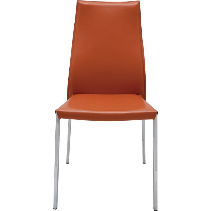NUEVO ERIC DINING CHAIR IN OCHRE