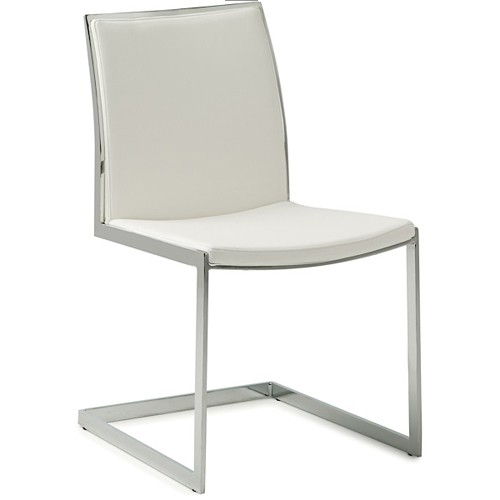 NUEVO TEMPLE DINING CHAIR IN WHITE
