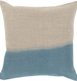 SURYA DIP DYED PILLOW IN TEAL