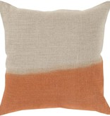 SURYA DIP DYED PILLOW IN BURNT ORANGE