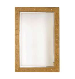 WORLDS AWAY WILSON MIRROR IN GOLD