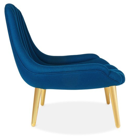 JONATHAN ADLER BRIGITTE NAVY LOUNGE CHAIR- LIMITED EDITION