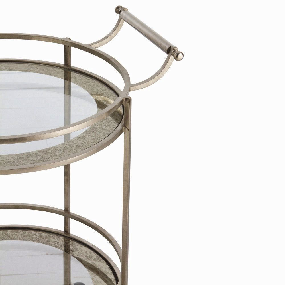 ARTERIORS WADE BRASS BAR CART