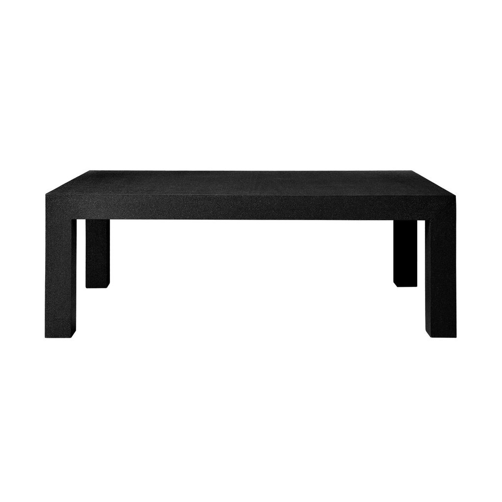 BUNGALOW 5 PARSONS COFFEE TABLE, BLACK