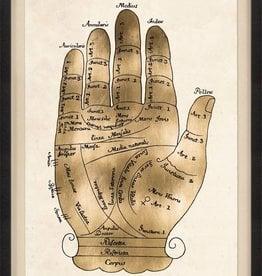GALLICUS HANDS 2, GOLD LEAF