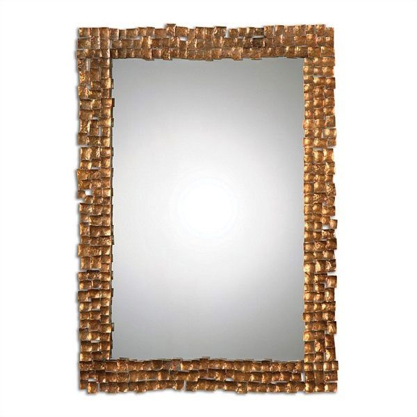 CARASCO GOLD WALL MIRROR