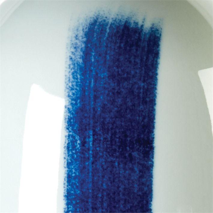 TOZAI HOME BLUE BRUSH S/2 TALL VASES