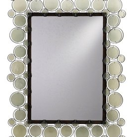 CURREY AND COMPANY FIONA BRONZE MIRROR