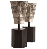 FLEMING BOOKENDS, SET OF 2