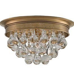 CURREY & COMPANY WORTHING FLUSH MOUNT