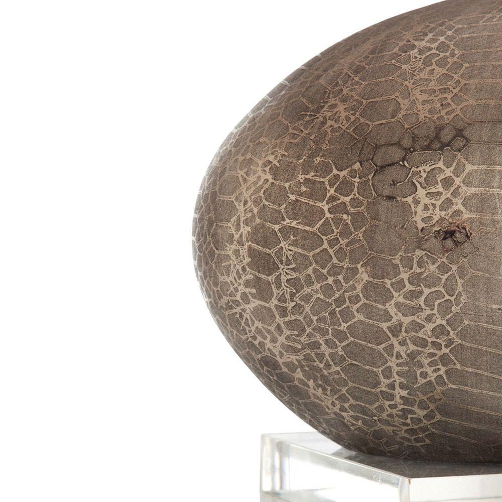 ARTERIORS WINSLOW METALLIC PYTHON PATTERN PORCELAIN ACRYLIC LAMP