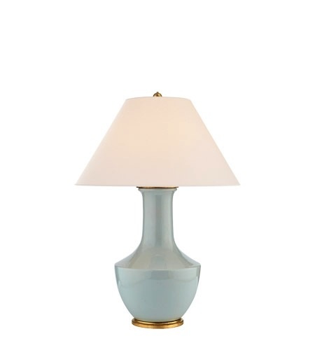 LAMBAY TABLE LAMP/ICE BLUE