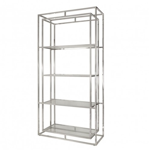 FLETCHER NICKEL ETAGERE