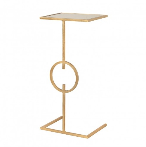 GEORGIA GOLD SIDE TABLE