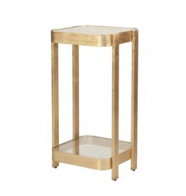 SHELDON GOLD SIDE TABLE