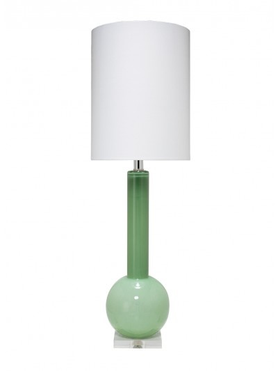 STUDIO TABLE LAMP w/ TALL THIN DRUM SHADE