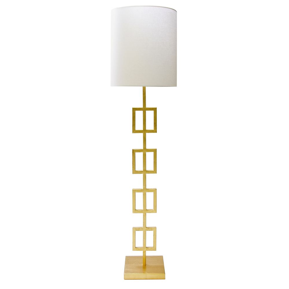 QUINN GOLD FLOOR LAMP