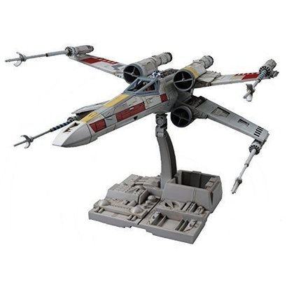 BAN - Bandai Gundam 191406 Star Wars X- Wing Starfighter Plastic Model Kit