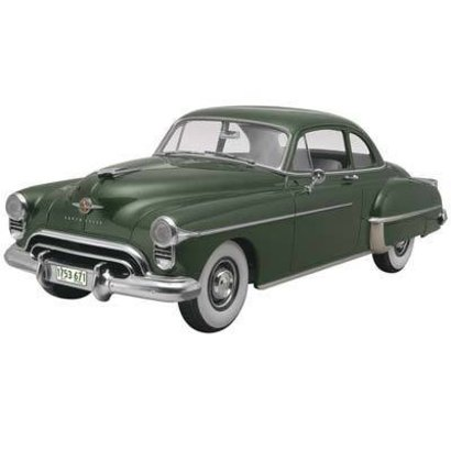 RMX- Revell 854254 Oldsmobile 1950 Club Coupe 2n1 Plastic Model Kit 1/25