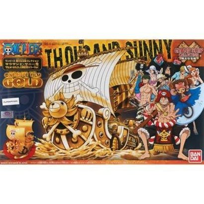 BAN - Bandai Gundam 207582 One Piece Thousand Sunny Grand Ship Collection