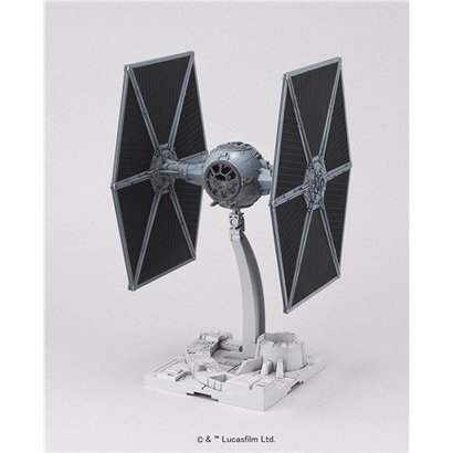 "BAN - Bandai Gundam 194870 Tie Fighter ""Star Wars"", Bandai Star Wars 1/72 Plastic Model"