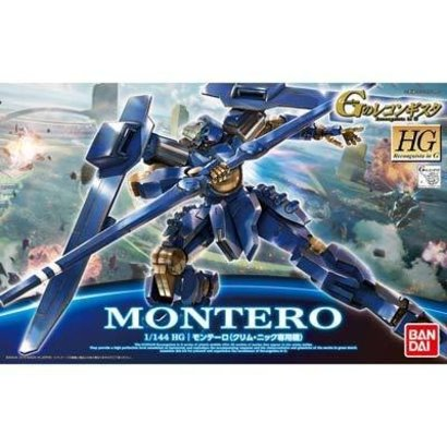 BAN - Bandai Gundam 193281 1/144 #03 Montero Klim Nick Custom