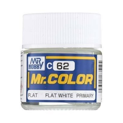 BAN - Bandai Gundam GNZ-C62 Flat White 10ml  Mr.Color