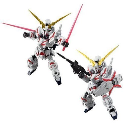BAN - Bandai Gundam 03832 NXEDGE STYLE UNICORN DEST ACTION FIGURE