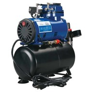 PAS - Paasche D3000R Diaphragm Compressor W/ Tank and Regulator