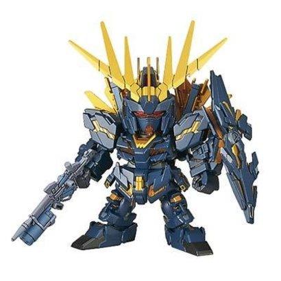 BAN - Bandai Gundam 215857 015 Unicorn Gundam 02 Banshee Norn DM SD Ex-Std