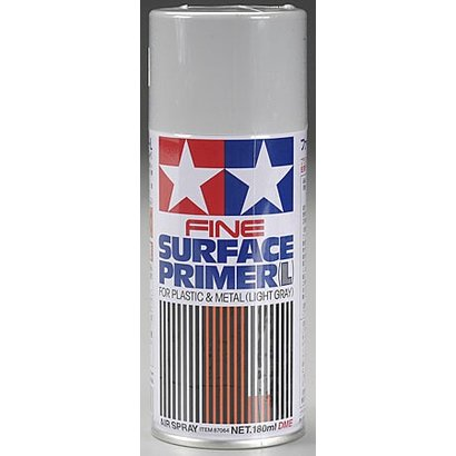 TAM - Tamiya 865- 87064 Fine Surface Primer L Light Gray 180 ml *