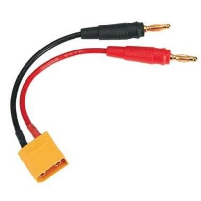 DTX - Duratrax Charge Lead Banana Plugs To XT60 Male