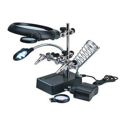 Latina (LAT) 27022-3 Magnifier w/5 LED Lights
