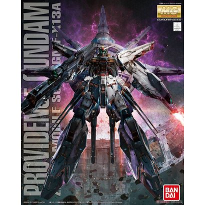 "BAN - Bandai Gundam 215629 Providence Gundam ""Gundam Seed"", Bandai MG 1/100"