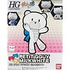 BAN - Bandai Gundam 207601 Build Fighters 1/144 Petit'gguy Milk White